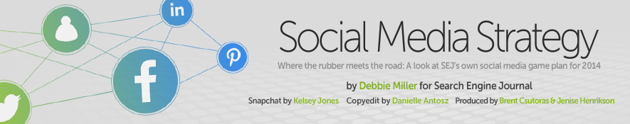 SEJ's Social Media Strategy by Debbie Miller