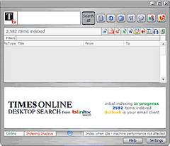 Blinkx Search Engine and The Times Partner for Desktop News Application