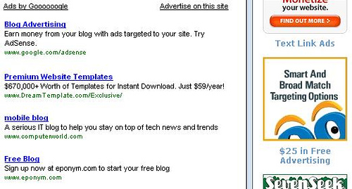 Google AdSense Text Size Expands With Site