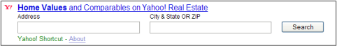 Yahoo & Zillow Partner for Home Estimate Search