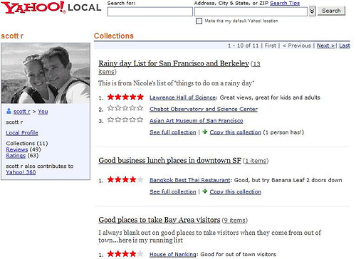 Yahoo Local Updates With Tagging & Photos