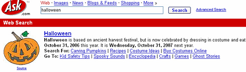 Halloween Sites : 13 Scary Halloween Pages