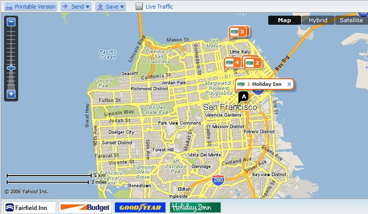 Yahoo Maps Adds New Features - Search Engine Journal on