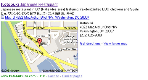Google Maps Plus Box : Local Meets Organic Search