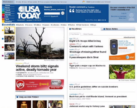 USAToday Web 2.0