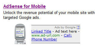 Google AdSense Mobile
