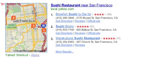 Yahoo Restaurants