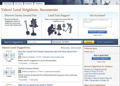 Yahoo Local Neighbors Launched to Bring Communities Together