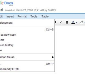 Google Docs Becoming Web Version of Microsoft Word 2003