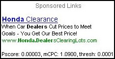 DealersClearingLots.com Ad Information