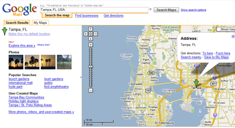 Google Maps Adds Photos, Video and Por Searches - Search ... on mi map google, state map google, mn map google, pensacola map google, mississippi map google, jacksonville map google, alaska map google, bc map google, sc map google, boca raton map google, georgia map google, delaware map google, calif map google, wy map google, ny city map google, sarasota map google, indiana map google, new hampshire map google, phoenix map google, ky map google,