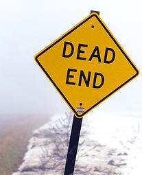 Dead-end page