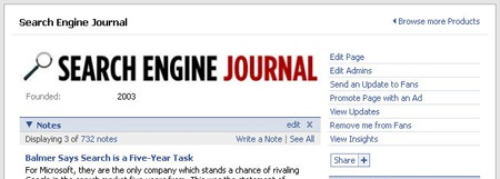 Search Engine Journal Fanpage