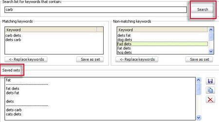 2 Desktop Tools to Help You Manage Your Keyword Lists