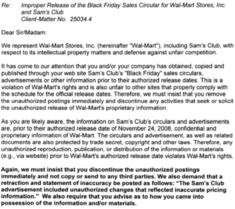 Wal-Mart Black Friday Ads