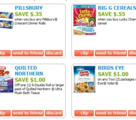 Coupons.com Launches a Facebook App