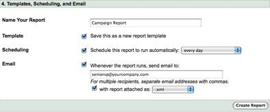 Google AdWords Customized Reports