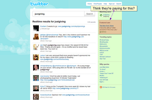 Twitter Rolling Out Search on Homepage & Sponsored Results