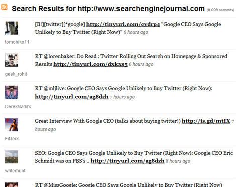 9 Twitter Search Apps : Better Than Twitter & Google