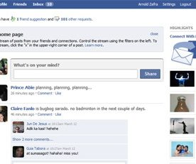 Gradual Roll Out of the New Facebook Home Page Starts