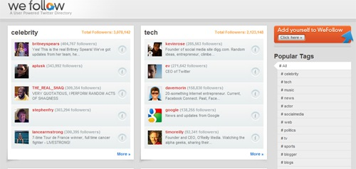 Kevin Rose Launches WeFollow Twitter Directory