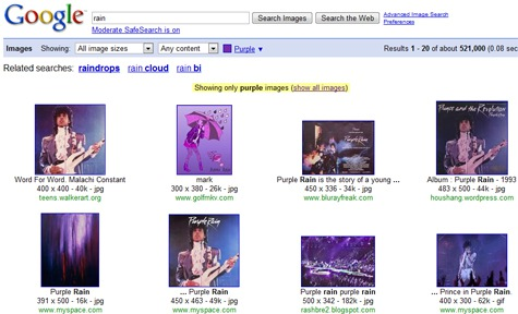 Google Image Search Gets the Rainbow Color Treatment