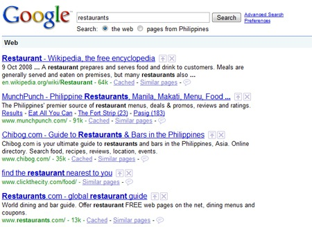 Google Expands Local Search