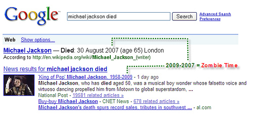Michael Jackson Died 2007?