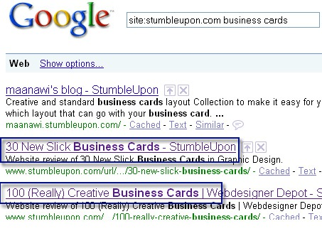 StumbleUpon Tip: Use Google to Choose the Best Category and Tags