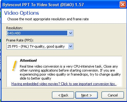 PPT to Video Scout