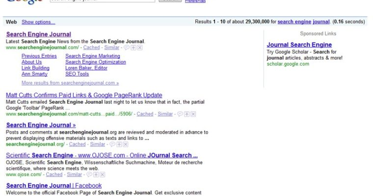 Google Shrunk its Search Results Page