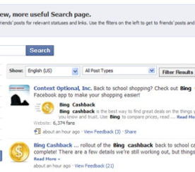 Facebook Rolls Out Real-Time Search
