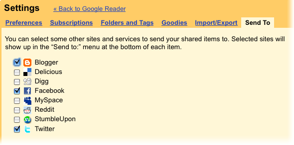 Google Reader Rolls Out Some Good Features