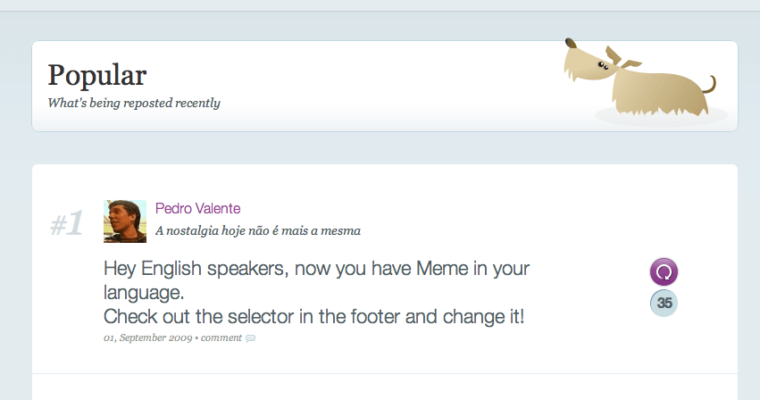 Yahoo Launching English Version of Twitter Style Microblogging