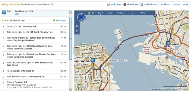 Google Maps Beats Rivals In Announcing SF Bay Bridge Closure - Google Maps Us 101