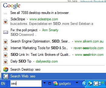 4 Google Search Desktop Tools Compared