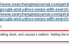 Linking Issues: Why a Trailing Slash in the URL Does Matter