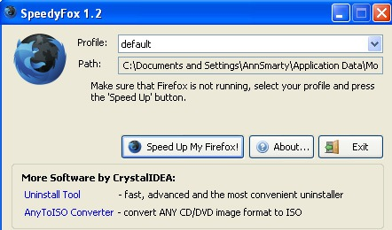 Speed Up Your FireFox with SpeedyFox