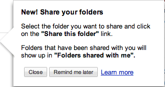 Google Docs Updated with Easier Folder Sharing Feature