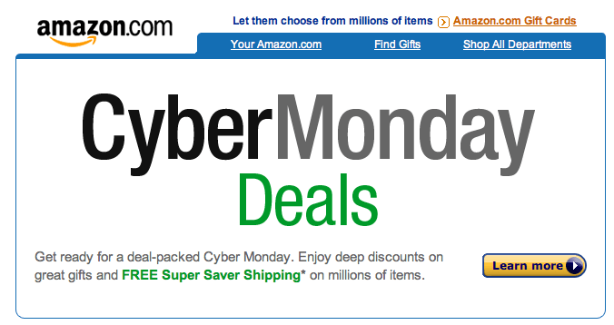 Cyber Monday Deals Spark Online Shopping Season