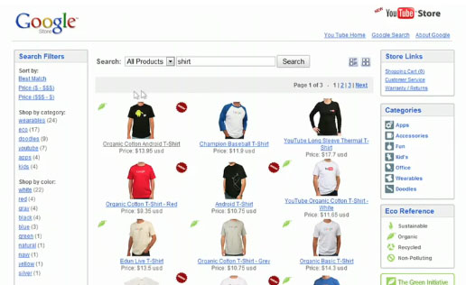 Google Unveils E-Commerce Search Solution