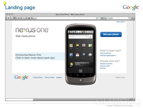Google Nexus One : What We Know About the Google Phone
