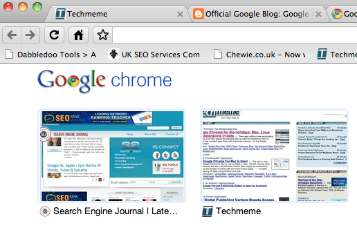 Google Chrome for Mac, Linux Available Now