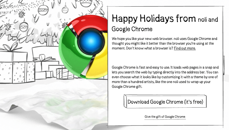 Give the Gift of Google Chrome this Christmas