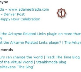 The Detailed Review of Arkayne, Related Posts Plugin
