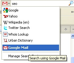 Gmail search plugin