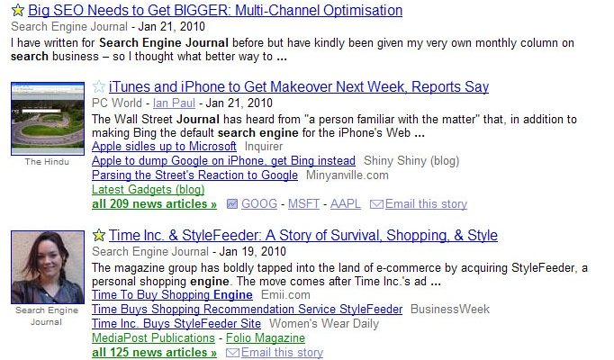Google Now Lets You Add Stars on News Easily