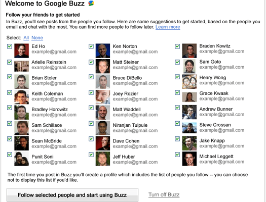 Google Answers Some Buzz Kills that We Buzzed Out