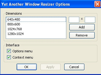 Window resizer