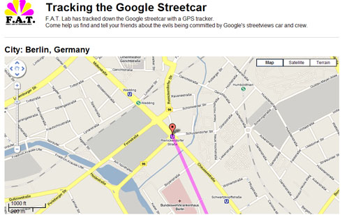 Google Maps Used to Track Down Street View Car